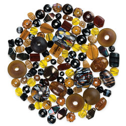Bead Collections - Crystals and Browns - 1 lb.