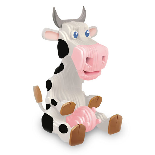 3-D Modeling Kits - Cow