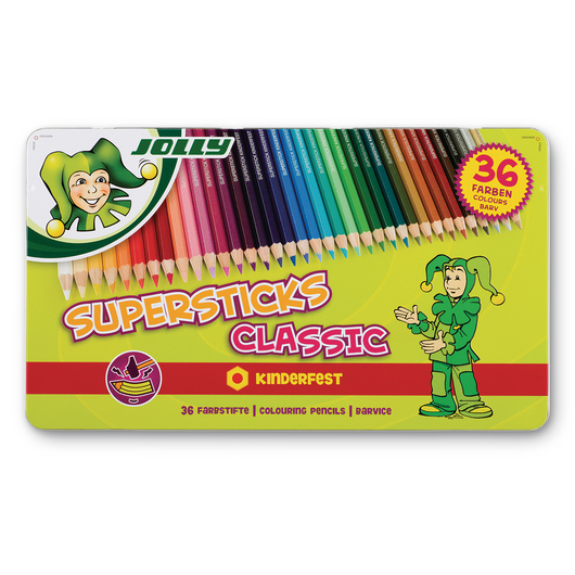 Jolly Supersticks - Set of 36 Classic Colors