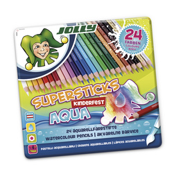 Jolly Supersticks Watercolor Pencils - Box of 24