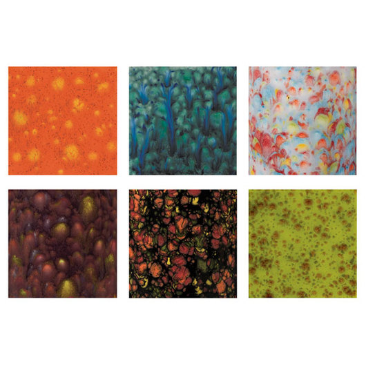 Mayco® Jungle Gem™ Glazes Set #5 - Pint - 6-Color Set