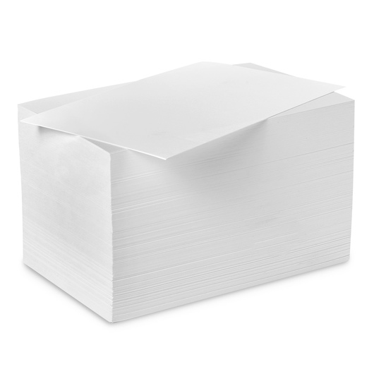 Nasco White All Media Drawing Paper - 4 in. x 6 in. - - 80 lb.