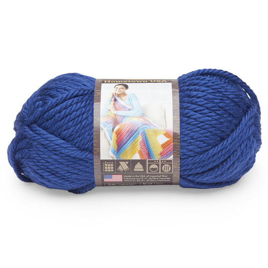 Lion Brand® Hometown USA® Yarn - 81 yds. - Fort Worth Blue