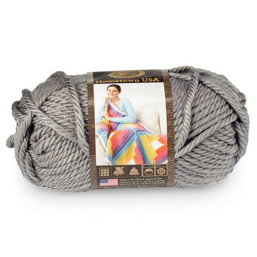Lion Brand® Hometown USA® Yarn - 81 yds. - Dallas Gray