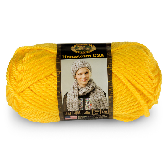 Lion Brand® Hometown USA® Yarn - 81 yds. - Pittsburgh Yellow
