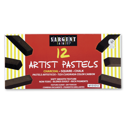 Sargent Art® Square Chalk Charcoals - Set of 12