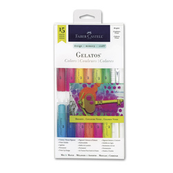 Faber-Castell® Gelatos® Bright Colors - Set of 12