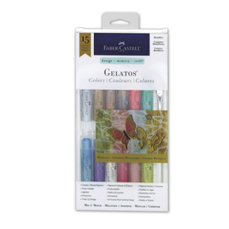 Faber-Castell® Gelatos® Metallics Colors - Set of 12