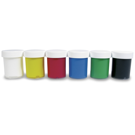 Creall® Dacta-Color Poster Paint - Set of 6 - 20 ml (11/16 oz.)