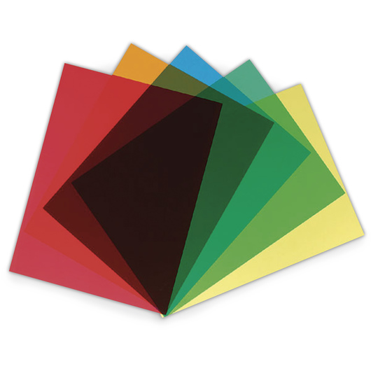 Grafix® Clear-Lay™ Film - 50 Assorted Sheet Pack