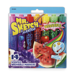 Mr. Sketch® Scented Washable Markers - Set of 14