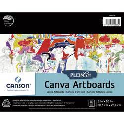 Canson Plein Air Canva Art Board Pads - 10 Boards