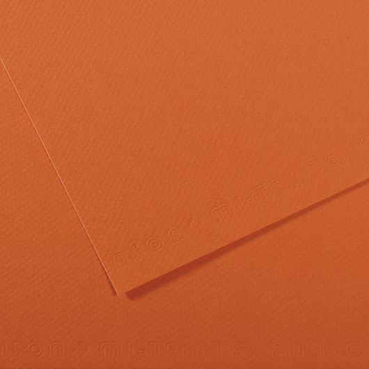 Canson® Mi-Teintes® Paper - 19-1/2 in. x 25-1/2 in. - Orange