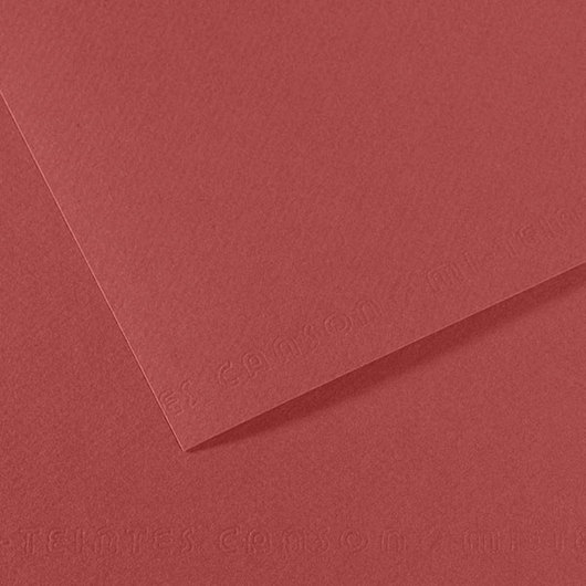 Canson® Mi-Teintes® Paper - 8-1/2 in. x 11 in. - Red Earth