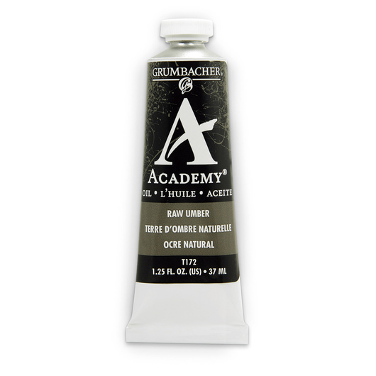 Grumbacher® Academy® Oil Paint - 37 ml - Raw Umber