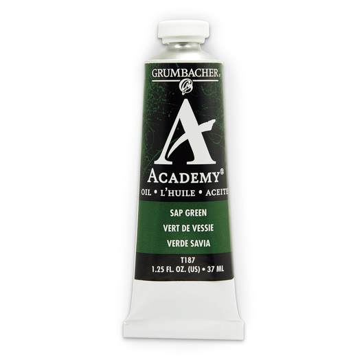 Grumbacher® Academy® Oil Paint - 37 ml - Sap Green