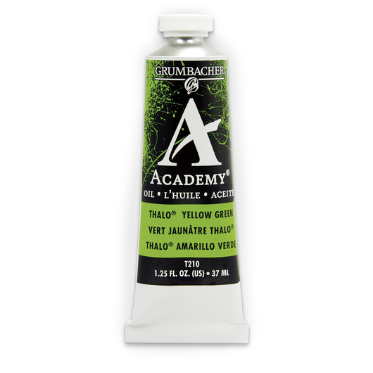 Grumbacher® Academy® Oil Paint - 37 ml - Thalo Yellow Green