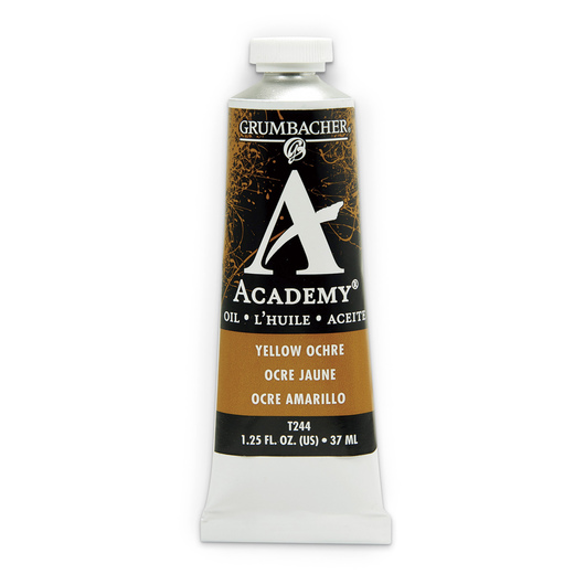 Grumbacher® Academy® Oil Paint - 37 ml - Yellow Ochre