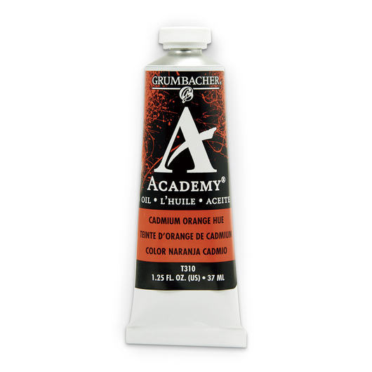 Grumbacher® Academy® Oil Paint - 37 ml - Cadmium Orange Hue