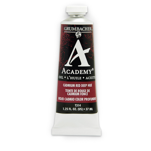 Grumbacher® Academy® Oil Paint - 37 ml - Cadmium Red Deep Hue