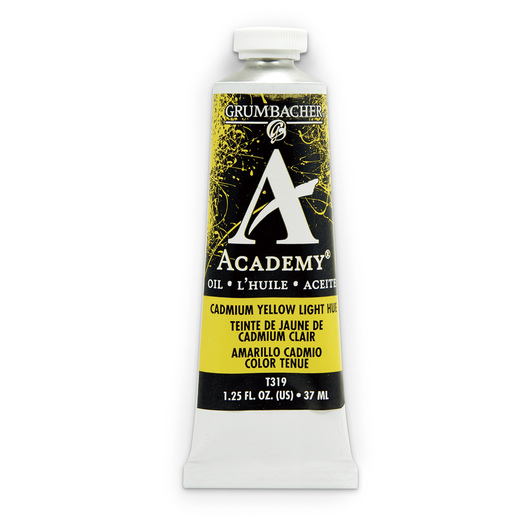 Grumbacher® Academy® Oil Paint - 37 ml - Cadmium Yellow Light Hue