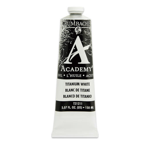 Grumbacher® Academy® Oil Paint - 150 ml - Titanium White