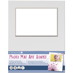 Crescent Photo Mat Art Board