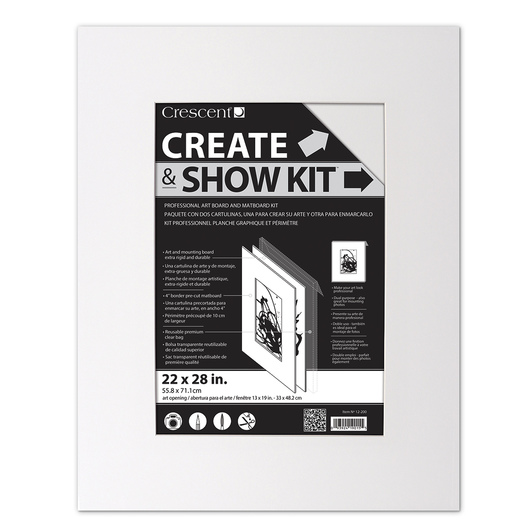 Crescent® Create and Show Kit - 22 in. x 28 in.