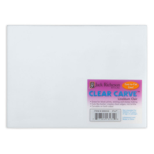 Jack Richeson® Clear Carve Linoleum - 5 in. X 7 in.