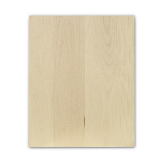 Basswood Panel - Rectangle - 8 in. x 10 in. x 3/4 in.