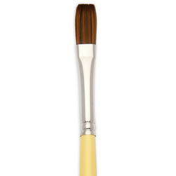 Interlock Bronze Flat Brush Series - Size 4