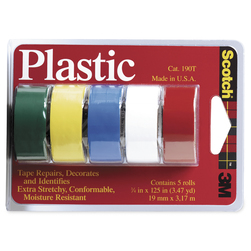 Scotch® Colored Plastic Tape