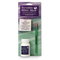 Grafix® Incredible White Mask™ Liquid Frisket Kit - 2-oz. Kit