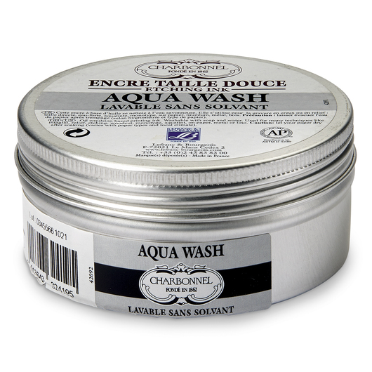 Aqua Wash® Etching Ink - 150 ml - Black Luxe C