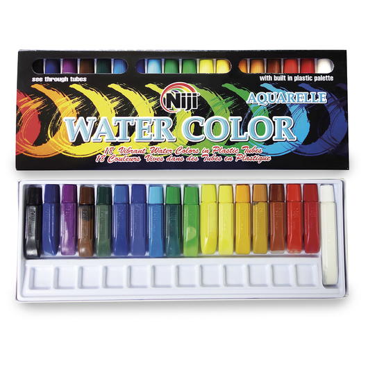 NIJI by Yasutomo® Watercolors - Set of 18
