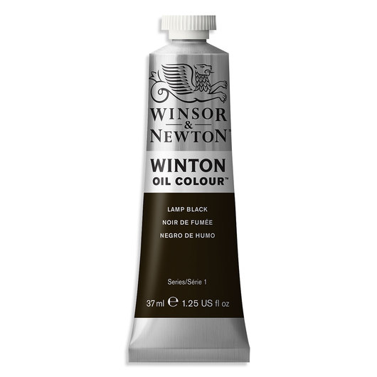 Winsor & Newton™ Winton Oil Color - Lamp Black