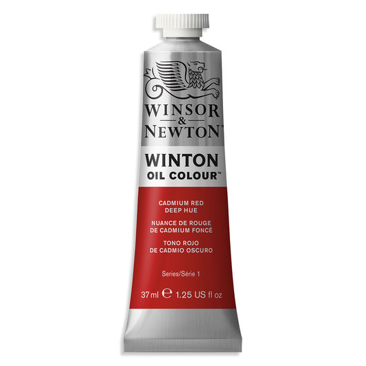 Winsor & Newton™ Winton Oil Color - Cadmium Red Deep Hue