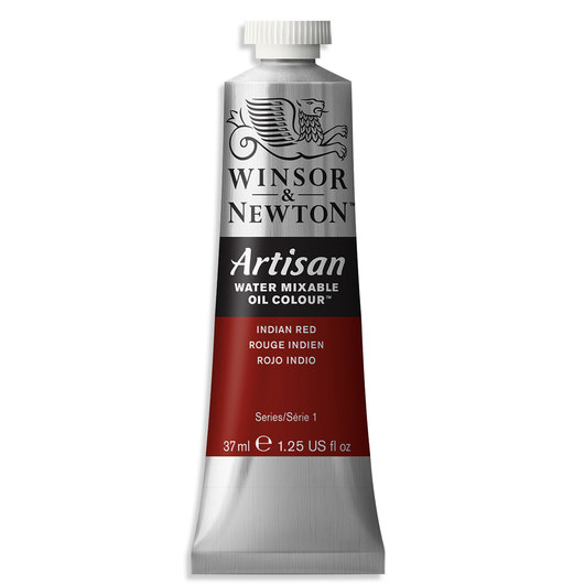Winsor & Newton™ Artisan™ Water-Mixable Oil Color - 1.25 oz. (37 ml) - Indian Red