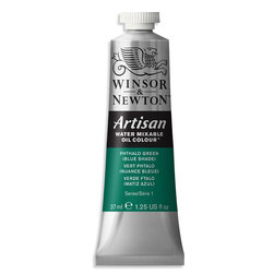 Winsor & Newton™ Artisan™ Water-Mixable Oil Color - 1.25 oz. (37 ml) - Phthalo Green Blue Shade