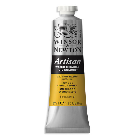 Winsor & Newton™ Artisan™ Water-Mixable Oil Color - 1.25 oz. (37 ml) - Cadmium Yellow Medium
