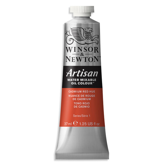 Winsor & Newton™ Artisan™ Water-Mixable Oil Color - 1.25 oz. (37 ml) - Cadmium Red Hue