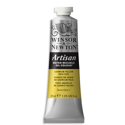 Winsor & Newton™ Artisan™ Water-Mixable Oil Color - 1.25 oz. (37 ml) - Cadmium Yellow Pale Hue
