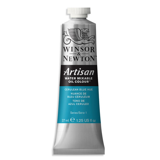 Winsor & Newton™ Artisan™ Water-Mixable Oil Color - 1.25 oz. (37 ml) - Cerulean Blue Hue
