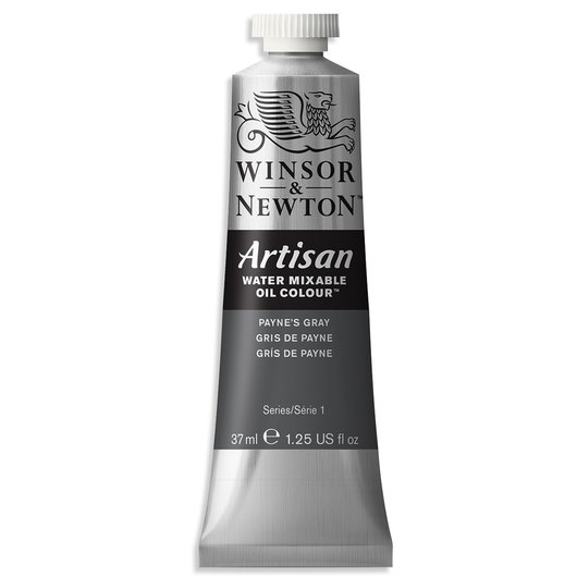 Winsor & Newton™ Artisan™ Water-Mixable Oil Color - 1.25 oz. (37 ml) - Payne's Gray