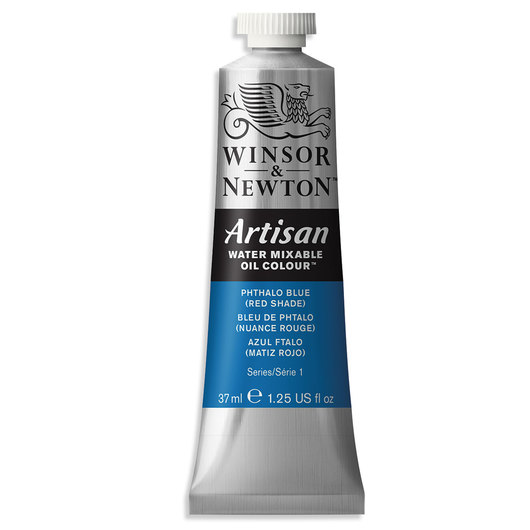 Winsor & Newton™ Artisan™ Water-Mixable Oil Color - 1.25 oz. (37 ml) - Phthalo Blue Red Shade