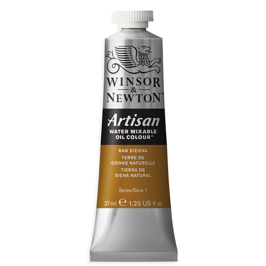Winsor & Newton™ Artisan™ Water-Mixable Oil Color - 1.25 oz. (37 ml) - Raw Sienna