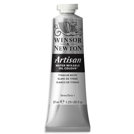 Winsor & Newton™ Artisan™ Water-Mixable Oil Color - 1.25 oz. (37 ml) - Titanium White