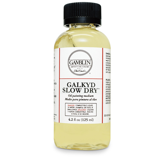 Gamblin Galkyd Slow Dry Oil Painting Medium - 4 oz.