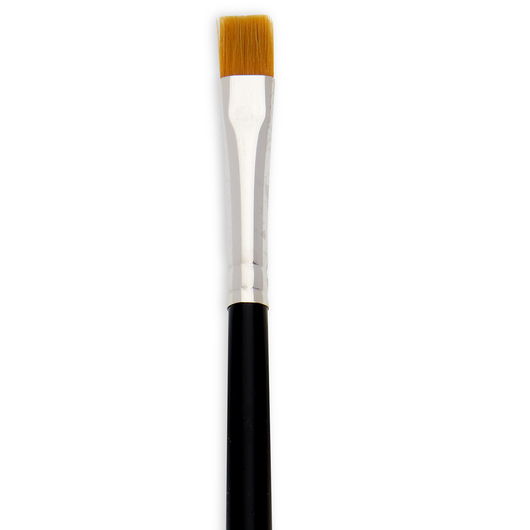 Dynasty® Finest Golden Synthetic Brush - 1/4 in. One Stroke