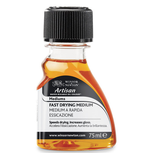 Winsor & Newton™ Artisan™ Water-Mixable Fast-Drying Medium - 75 ml Bottle